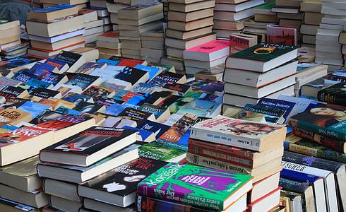 photo of pile of hardbound books