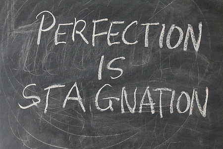 Perfection IS Stagnation text