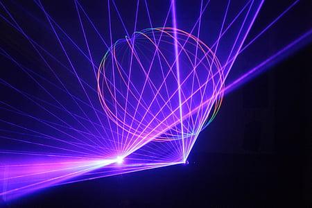 purple LED light