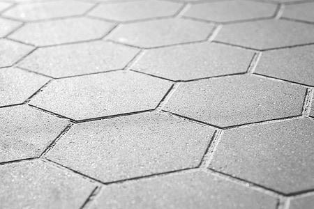 grey sidewalk