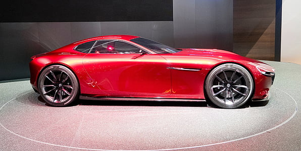 red concept coupe