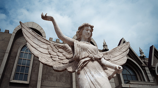 female angel statue