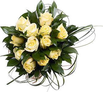 yellow petaled flowers bouquet
