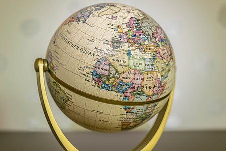 brown globe