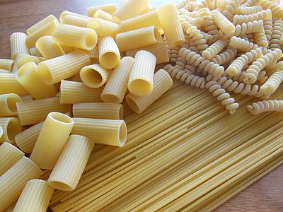 pasta and macaroni