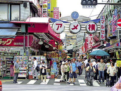 Tokyo market