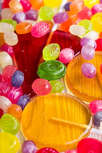 assorted-color-and-size candy lot