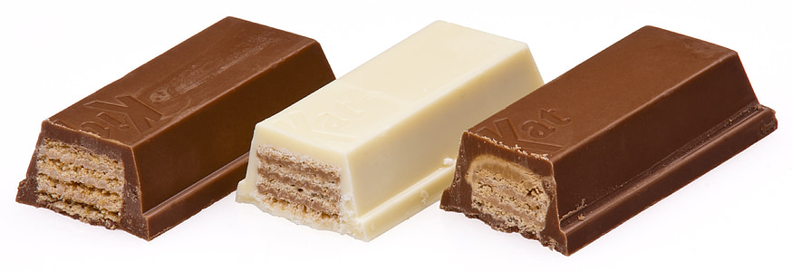 Kitkat chocolate and milk bars