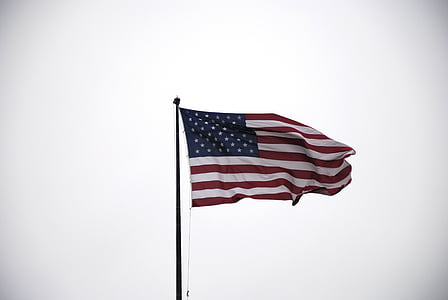 flag of the USA at daytime