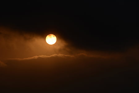 photo of full moon