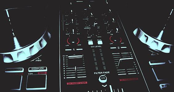 closeup photography of terminal mixer