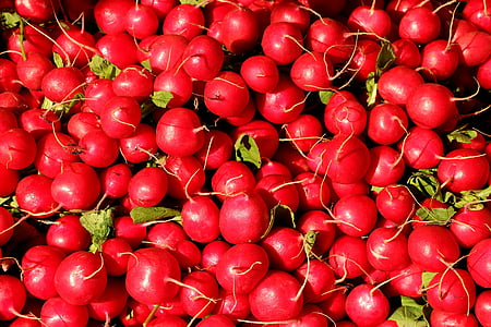 stack of cherry fruits