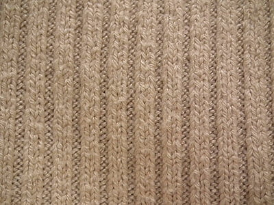 brown knitted textile