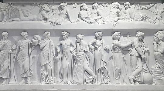 white mural