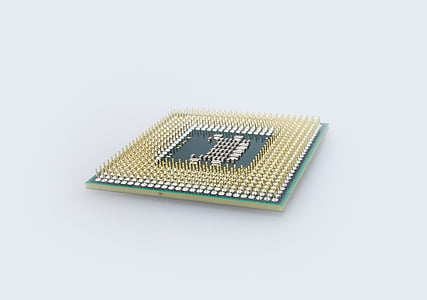gold and black computer processor
