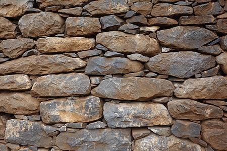 brown stones