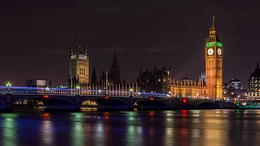 Big Ben Tower London during night