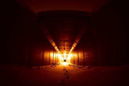 black and yellow tunnel
