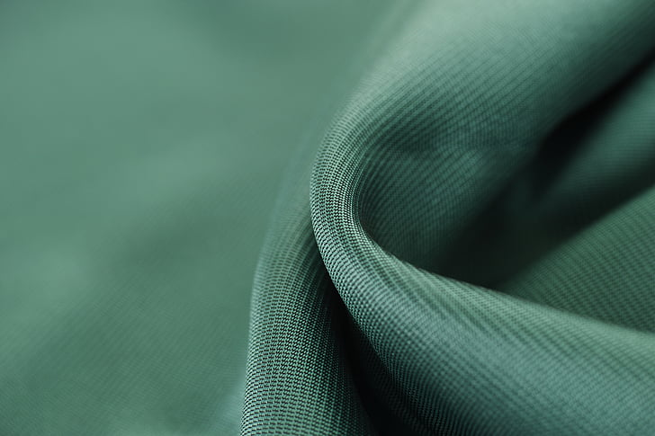 black textile