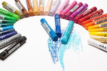 Jaxon coloring pen lot on white surface