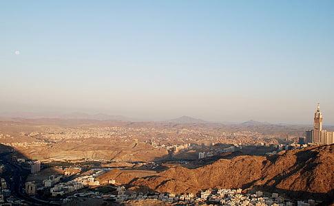 city aerial photo