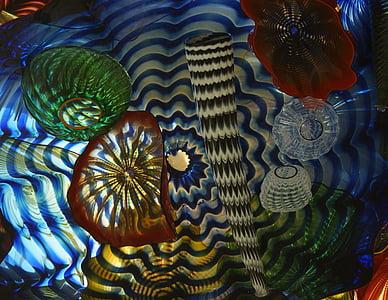 glass, art, tacoma, washington, light, float