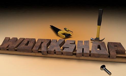 Workshop commercial signage