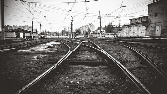 empty trail rail