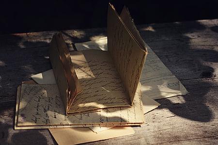 brown printer paper