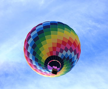 multicolored air balloon