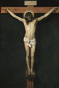 Jesus Christ on the cross painting