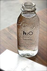 full H2O bottle