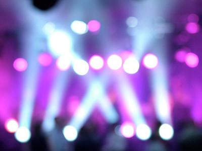 light, lights, led, beams, stage, bokeh