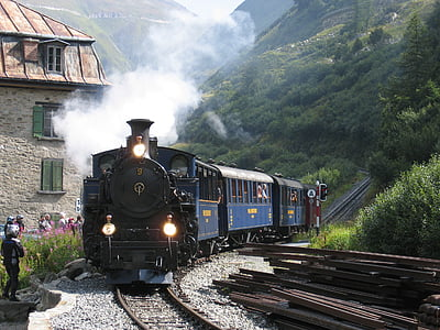 classic blue train