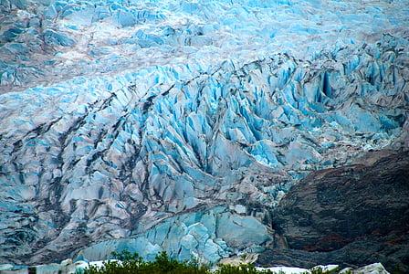 alaska, ice, glacier