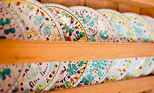 assorted ceramic decors