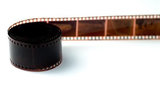 brown camera film roll
