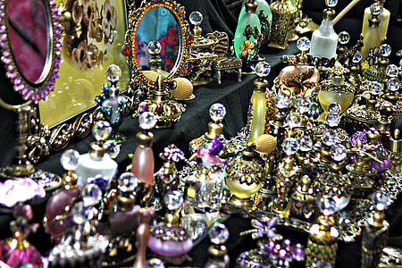 assorted-colored jewelry lot
