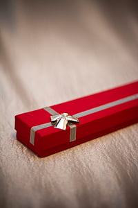 rectangular red gift box