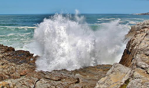 waves of body of water during daytime