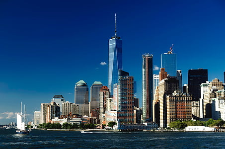 cityscape photography of One World Trade Center