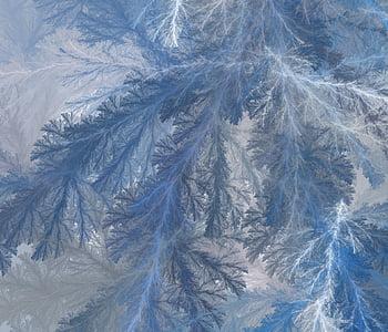 closeup photo of frozen tree