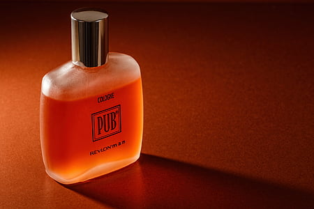 Pub cologne bottle