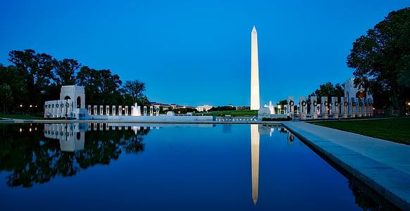 view of Washington Monument