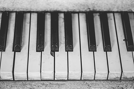 closeup photo of electronic keyboard keys