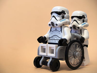 Star Wars LEGO Stormtrooper toy