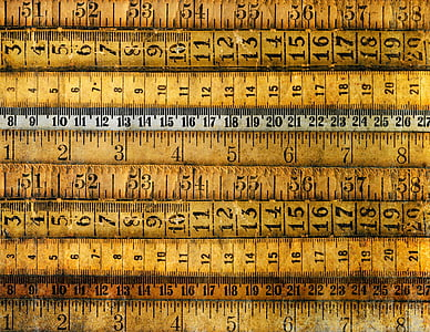 assorted brown rulers