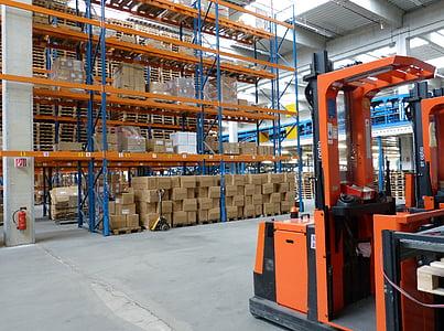photo of warehouse interior