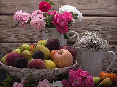 assorted fruits on basket