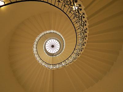 spiral stairways